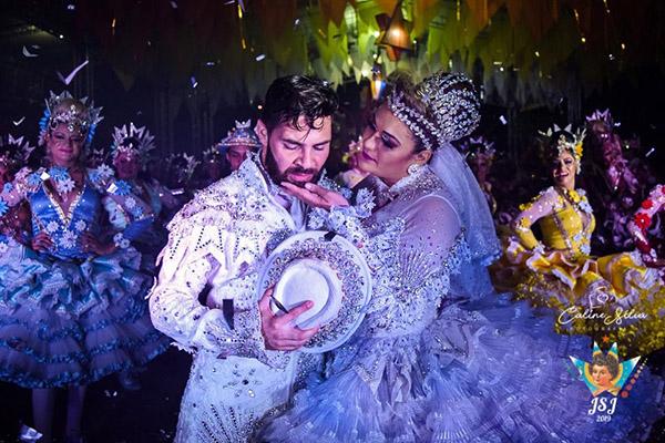Najara, noiva da Junina São João, lamenta ano semfestivais de quadrilha