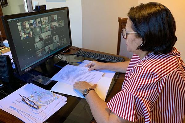 Anúncio foi feito pela governadora Fátima Bezerra após reunião virtual com representantes dos setores produtivos do Estado do RN