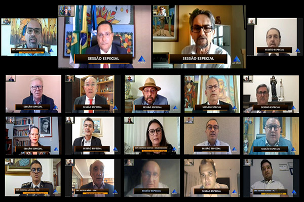 Em sessão virtual, Cipriano Maia respondeu questionamento dos deputados estaduais