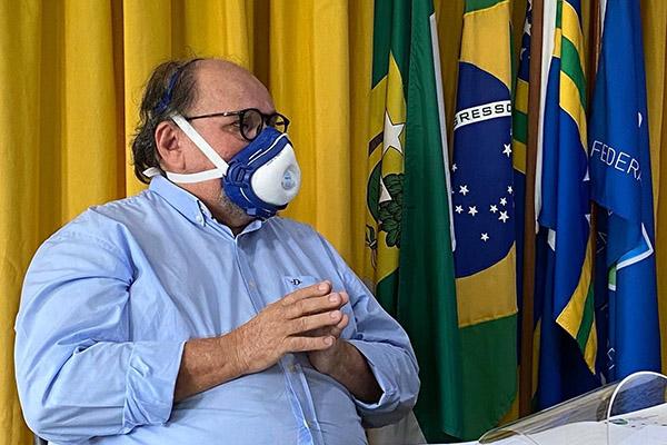 José Vanildo propôs até uma parceria entre governo e clubes para campanha do isolamento social