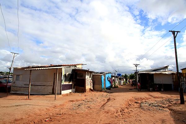 No Estado, 30% de todos os beneficiados com auxílios durante pandemia estão na faixa de renda mais pobre, morando em áreas de assentamento como essa no Planalto