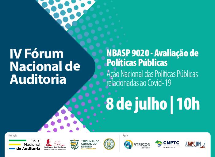 Fórum Nacional de Auditoria acontece nesta quarta-feira, 8