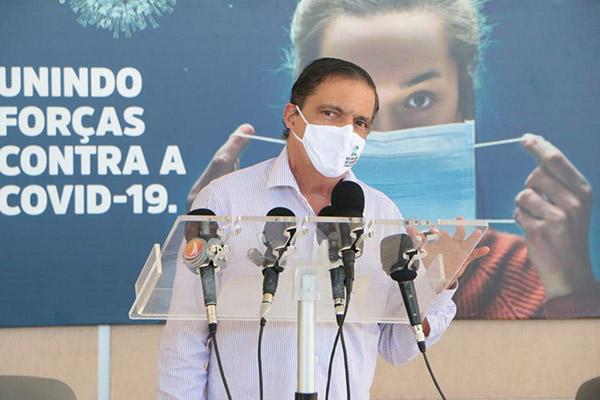Em coletiva de imprensa, o secretário adjunto de Saúde do Estado,  Petrônio Spinelli, detalhou que retomada depende de percentual de ocupação de UTIs em 80%