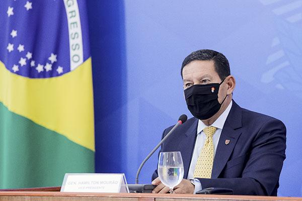 Vice-presidente Hamilton Mourão afirma que os mecanismos de monitoramento são péssimos