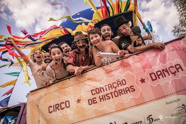O Projeto Conexão Elefante Cultural desenvolve ações na área das artes cênicas