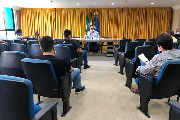 Reunião cumprirá exigências dos protocolos contra Covid-19