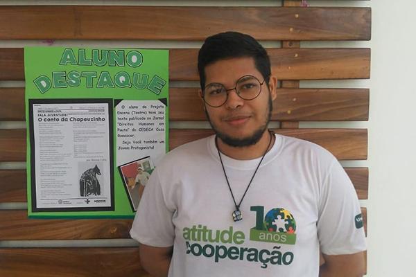 Alisson Lima, autor do livro disse que se dasafiou na obra
