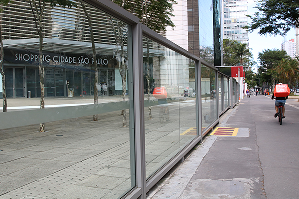 Shopping Cidade de São Paulo reservou área para construção de uma praça, ao lado do centro de compras