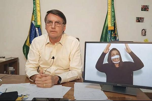Bolsonaro negou que Salles tenha desmontado a fiscalização