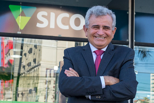 Manoel Santa Rosa, presidente do Sicoob Rio Grande do Norte, destaca crescimento da cooperativa