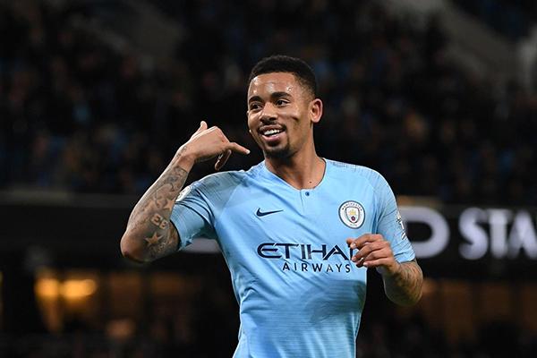 Gabriel Jesus estaria sendo sondando pelo adversário do Manchester City na Liga dos Campeões manchester city