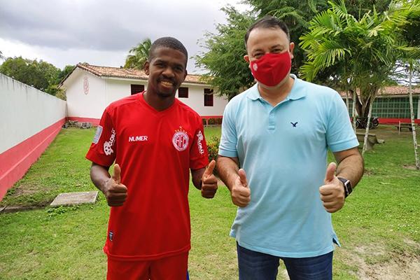 Fabiano chega ao clube potiguar através de uma parceria com Retrô e diretoria quer mais reforços