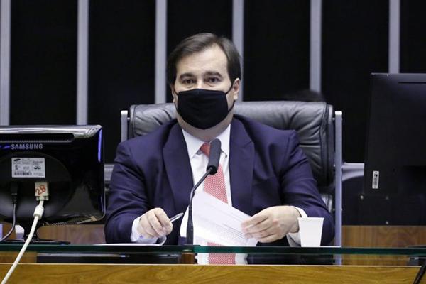 O atual presidente da Câmara dos Deputados, Rodrigo Maia
