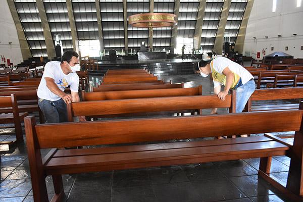 Catedral Metropolitana de Natal se adequa para reabertura
