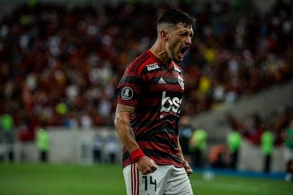 Arrascaeta, meia do Flamengo