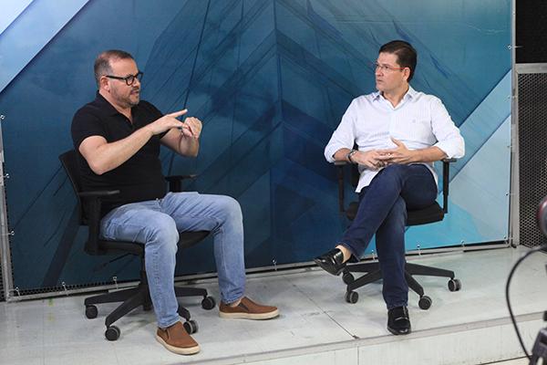 Flávio Oliveira e Arturo Arruda debateram os rumos da Comunicação na era pós-pandêmica