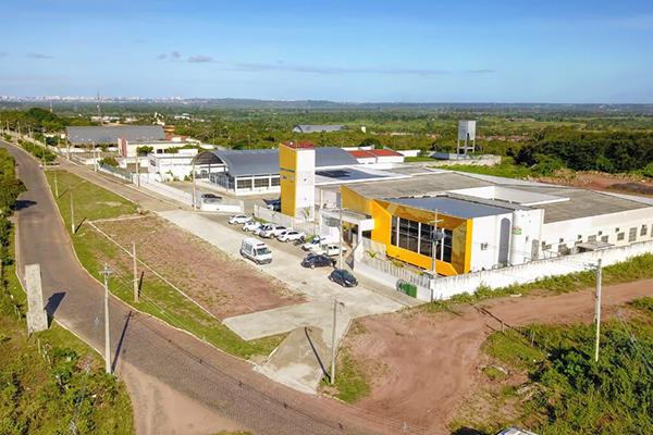 Hospital de Campanha está montado numa estrutura cedida pelo município de São Gonçalo do Amarante pelos próximos três meses