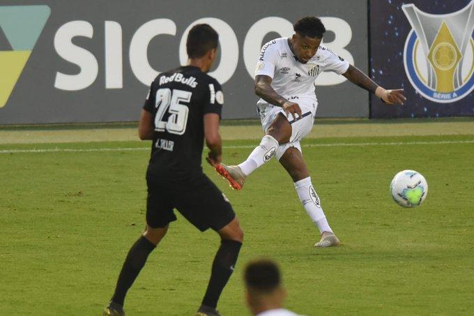 Na Vila Belmiro, Santos e RB Bragantino ficaram no 1x1