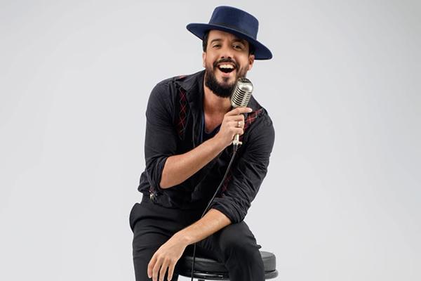 O cantor Dudu Galvão está na programação Festival promovido pela TV Universitária
