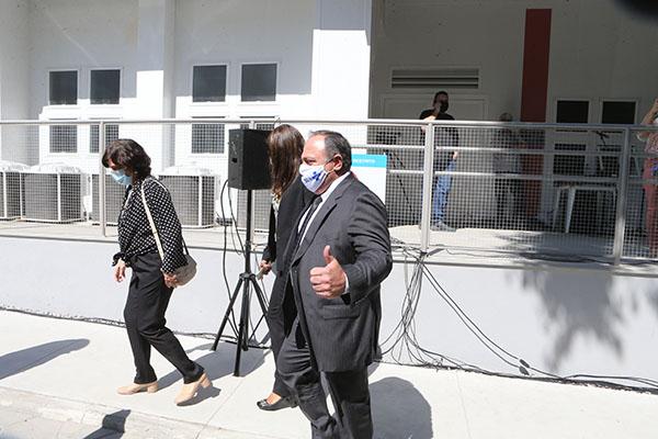 Eduardo Pazuello vai à cerimônia de inauguração de uma Unidade de Apoio ao Diagnóstico no RJ