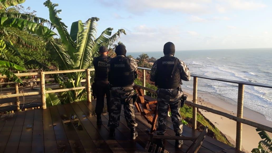 Polícia Militar apoia operação do MPRN