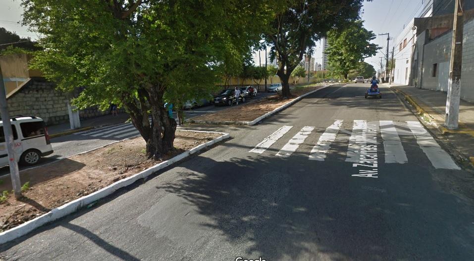 O trecho interditado compreende o cruzamento da Rui Barbosa com a Bernardo Vieira (foto) até a Alexandrino de Alencar, sempre no sentido Centro/Bairro