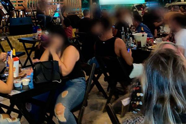 Empresários querem fiscalização de bares que não cumprem medidas sanitárias
