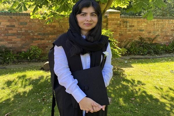 Malala Yousafzai, ativista social e vencedora do Prêmio Nobel da Paz