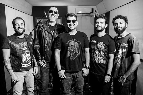 Nova formação tem Paulão, Hugo Albuquerque, Gil Oliveira, Wilton César e Damião Paz (bateria)