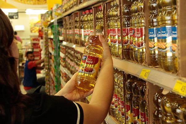 Para o empresário e presidente da Associação dos Supermercados do RN, Geraldo Paiva, o verdadeiro vilão da cesta básica é o óleo