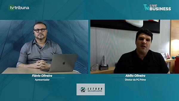 Flávio Oliveira recebeu Abílio Oliveira, da PG Prime, e juntos debateram rumos da gestão e negócios