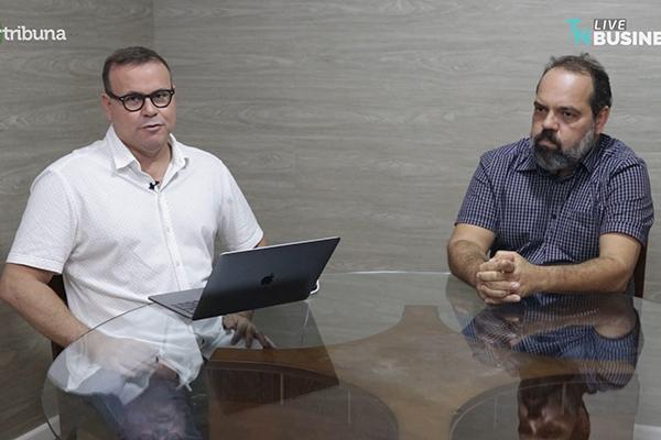 Flávio Oliveira e Marcelo Passos debateram temas relevantes para a agropecuária do Estado
