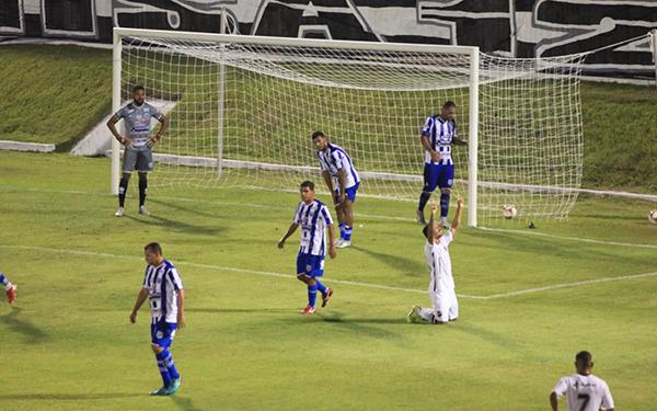 Fabrício Bigode marcou o seu primeiro gol com a camisa alvinegra, justamente o que fechou a maior goleada do clube na Série D