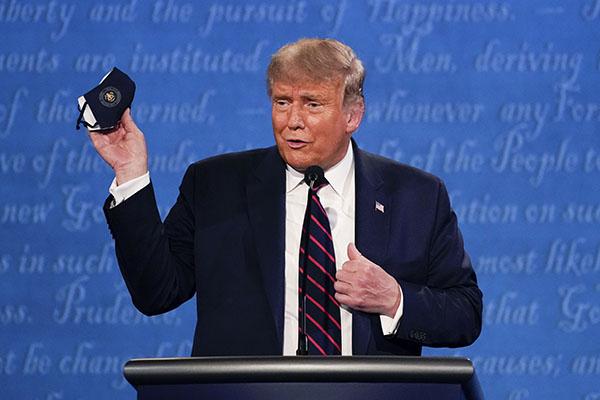 Trump segue em busca de mudança no resultado das urnas