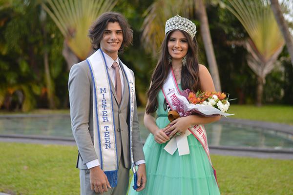 Representantes do RN no Miss e Mister Teen Brasil 2020