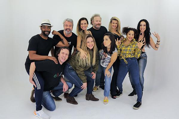 Rodrigo Candelot e um grupo de atores resolveu criar o canal de humor em meio a pandemia