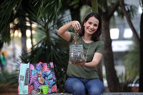 Ecóloga e gestora ambiental Mariana Nunes afirma que saber cuidar do lixo é o tipo de responsabilidade individual que reverbera na coletividade