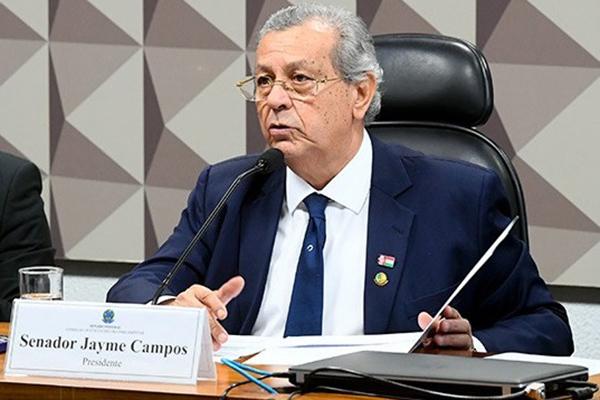 Senador Jayme Campos (DEM-MT) deve decidir, em cinco dias úteis, se aceita ou não a representação