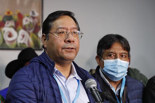 """Luis Arce afirma que Evo Morales volta """"quando quiser"""""""