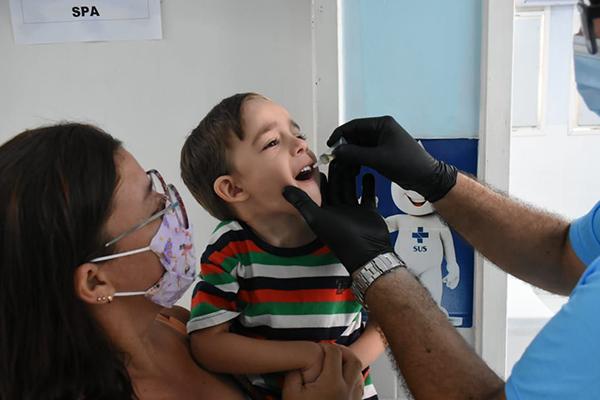No Rio Grande do Norte, representante da Sesap faz apelo para que pais levem os filhos aos Postos de Saúde para receberem vacina