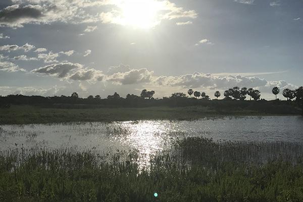 Área seca no Estado aumentou ao longo do mês de setembro