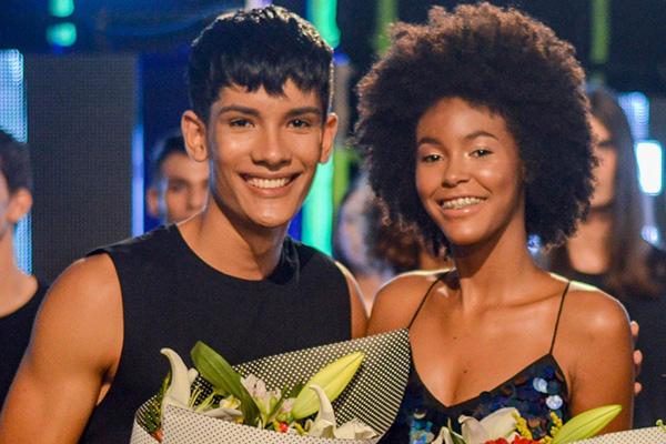 Marcelo Lucas e Millena Rocha foram os vencedores da última temporada