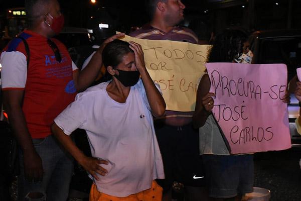 Ozenilda das Dores, mãe de José Carlos, relatou que jamais sentiu dor tão profunda como a que está vivenciando desde o dia 21/10