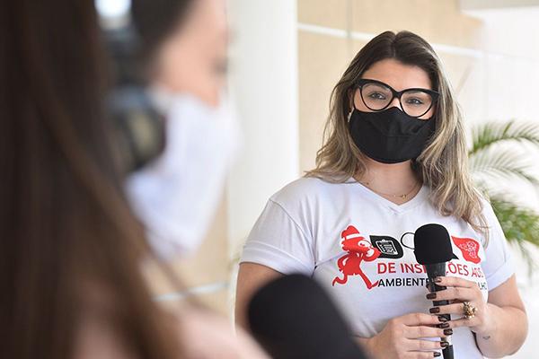 Alessandra Lucchesi detalhou dados do Boletim Epidemiológico e comentou momento da pandemia