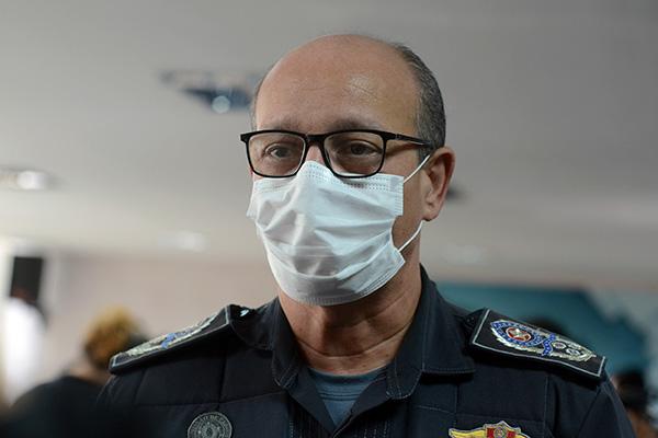 Coronel Alarico Azevedo, comandante da Polícia Militar, declarou que policiamento está reforçado