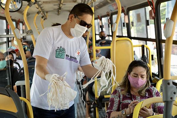 Na Região Metropolitana de Natal, mais de 2,3 milhões de máscaras de proteção foram distribuídas