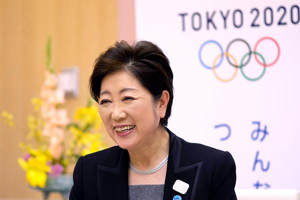 A governadora de Tóquio, Yuriko Koike garantiu os Jogos