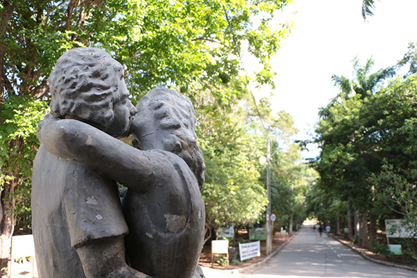Bosque dos Namorados, como também é conhecido o Parque das Dunas, é um dos símbolos de Natal