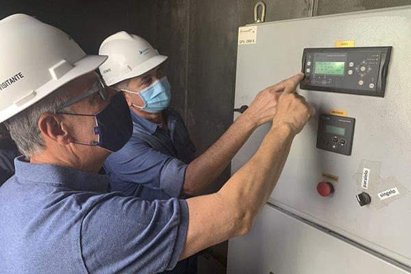 Ministro de Minas e Energia, Bento Albuquerque visita a subestação Santa Rita e as instalações para fornecimento de mais 20MW ao Amapá