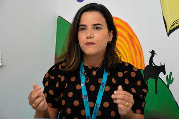 Jéssica Soares, da UNP, alerta que aluno deve evitar desgastes
